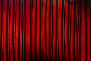 BG red curtains