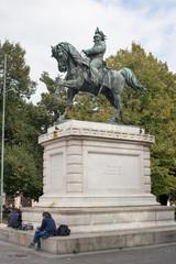 Statue of Vittorio Emanuele II, Verona Italy