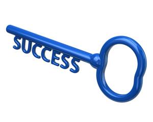 Blue key to success