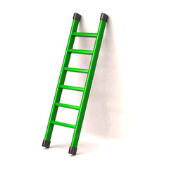 Green ladder to success