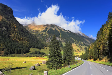 The national park of the Grossglockner