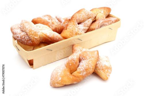 Papiers peints Dessert Bugnes - French donuts