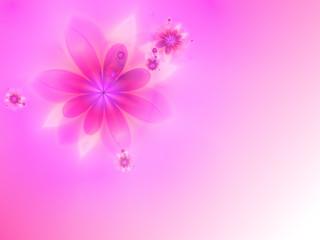 Pink spring background