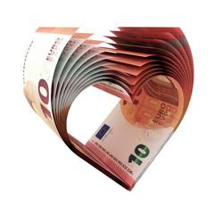 10-Euro-Herz