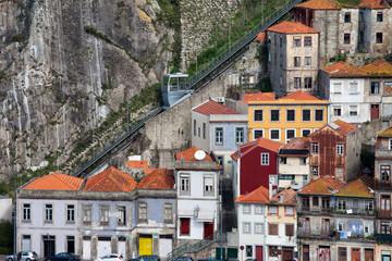 Funicular dos Guindais in Porto
