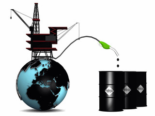 oil pump and earth
