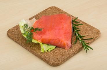 Salted salmon