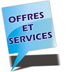 bouton offres et services