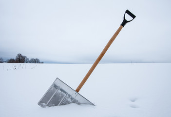 Shovel for snow removal