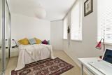 Fototapety Modern bedroom in luxury apartment