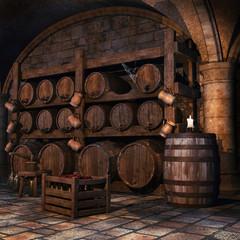 Stara piwnica na wino