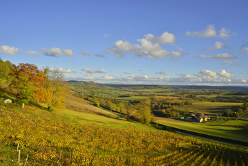 La vallée dorée de Vézelay, l'Yonne, Bourgogne