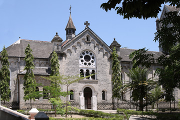 Cathedral in Bagamoyo town
