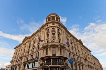 Hotel Bristol (circa 1901) in Warsaw, Poland