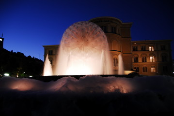 Soap fountain