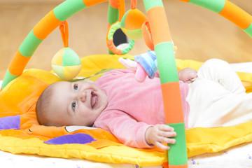 Innocent Baby Smiling