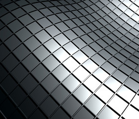 Abstract background of 3d high tech structure