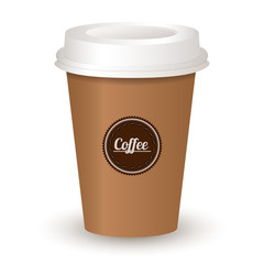 vector illustration of coffee cup