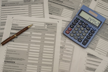 Steuerformulare