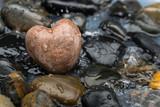 Kieselstein in Herzform