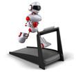 canvas print picture - Robot