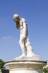 Cain statue tuileries