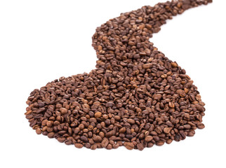Coffee Beans as road