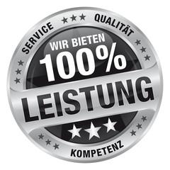 Wir bieten 100% Leistung - Service, Qualität, Kompetenz