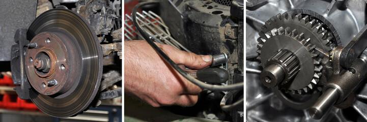 bremsen, getriebe, reparatur