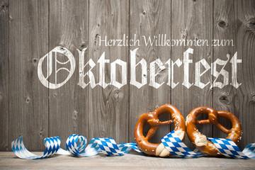 Herzlich Willkommen zum Oktoberfest