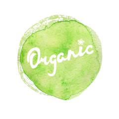 Organic Hand lettering handmade vector calligraphy