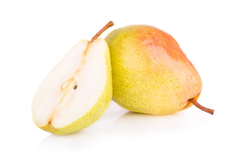 ripe juicy pear