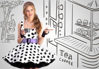 Tea or coffee.