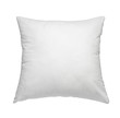 Leinwanddruck Bild - white pillow bedding sleep