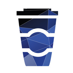 coffee icon Abstract Triangle