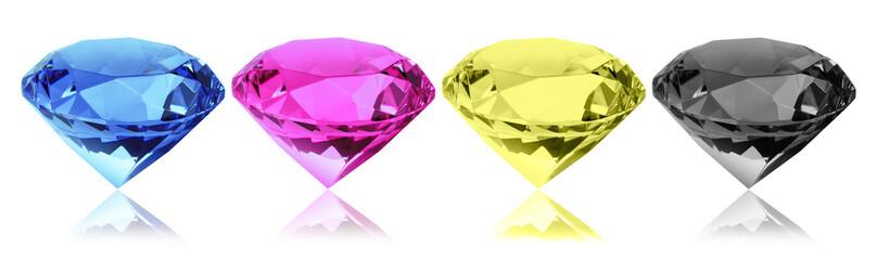 cmyk Diamanten