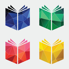 book icon Abstract Triangle