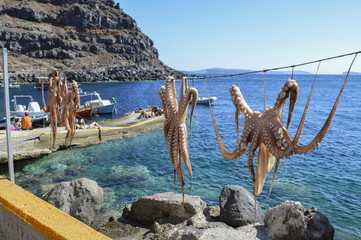 Santorini Island Port