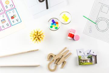 montessori preschool tools