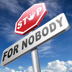 stop for nobody