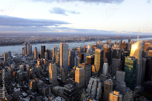 New-York vue aerienne