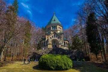 Votivkapelle am Starnberger See gut besucht