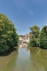 Ross Neckar Canal in Esslingen am Neckar, Germany