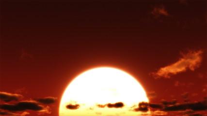 Big Sunrise Time Lapse