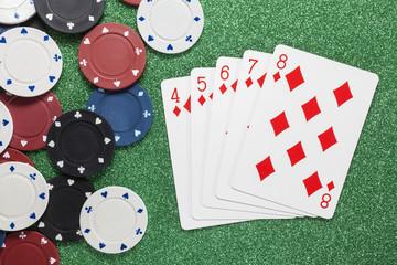 Straight Flush. Casino concepts