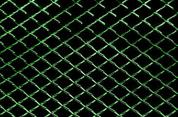 abstract background of dark red metal net texture
