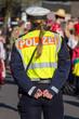 Leinwanddruck Bild - Polizistin