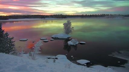 Magie de lumières au delà du cercle polaire