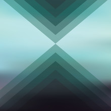 Abstract blurred background with geometric shapes. Dark colors