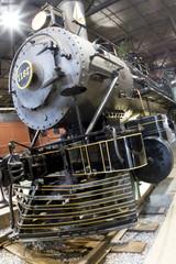 Antique Train Engine